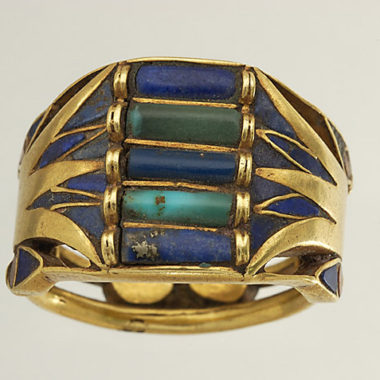 Egyptian Lotus Ring